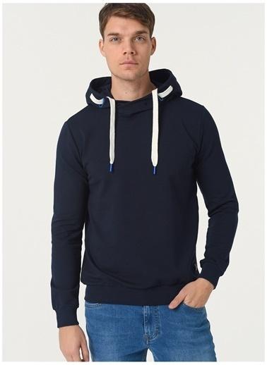 Limon Company Limon Kapüşonlu Lacivert Sweatshirt Lacivert